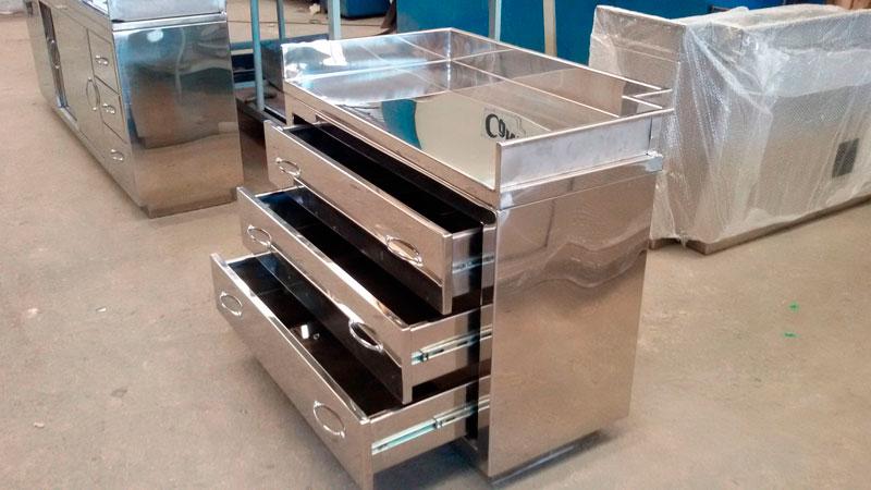 Móveis Em Aço Inox Para Cozinha Industrial Inoxval