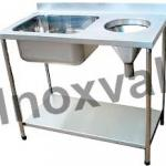 Mesa inox para cozinha industrial